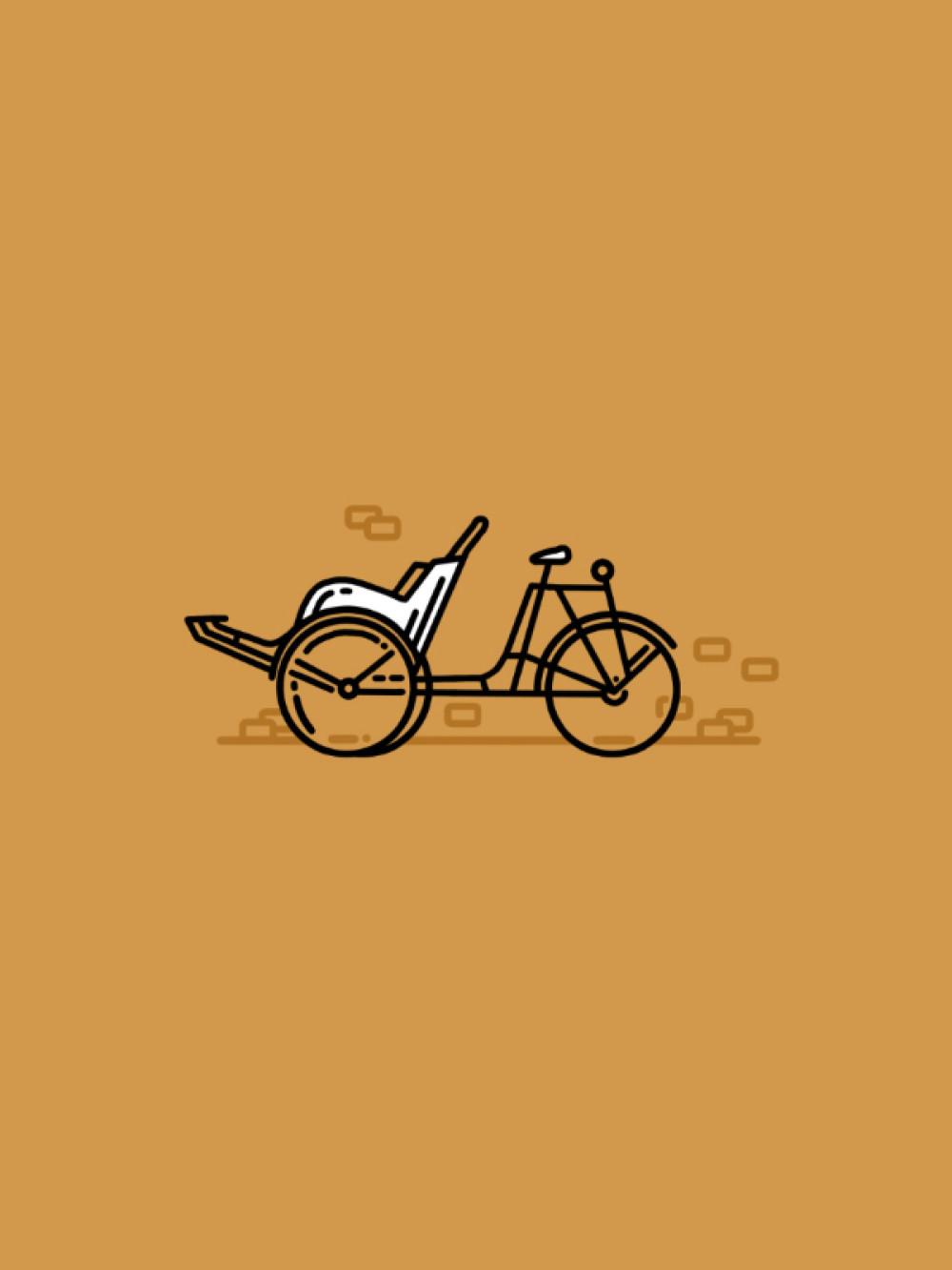Portfolio Portrait M Co Wiring Structured Cartoon Retro Bike
